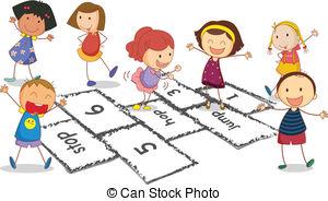 Hopscotch Illustrations and Clip Art. 132 Hopscotch royalty free.