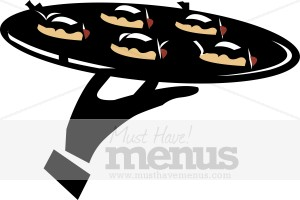 Catering clipart appetizer, Catering appetizer Transparent.