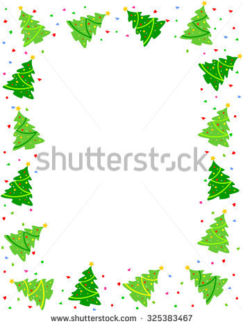 Tree Border Stock Images, Royalty.