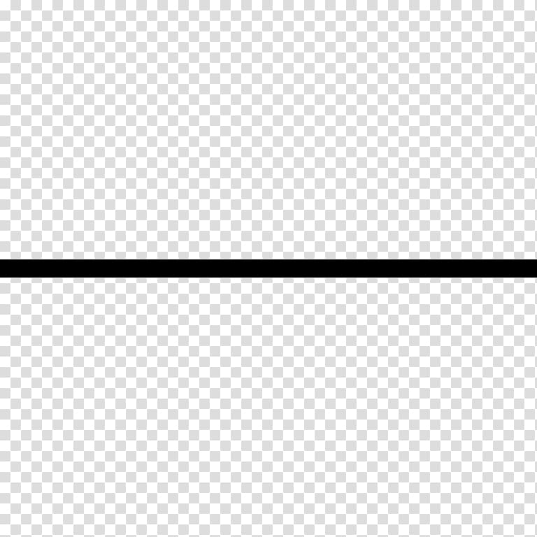 Black vertical line, Rectangle, horizontal line transparent.