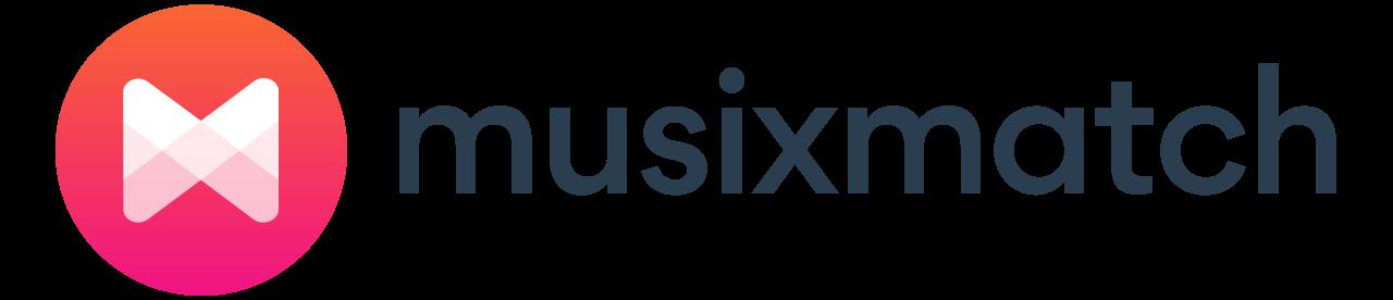 File:Musixmatch horizontal logo on white.svg.