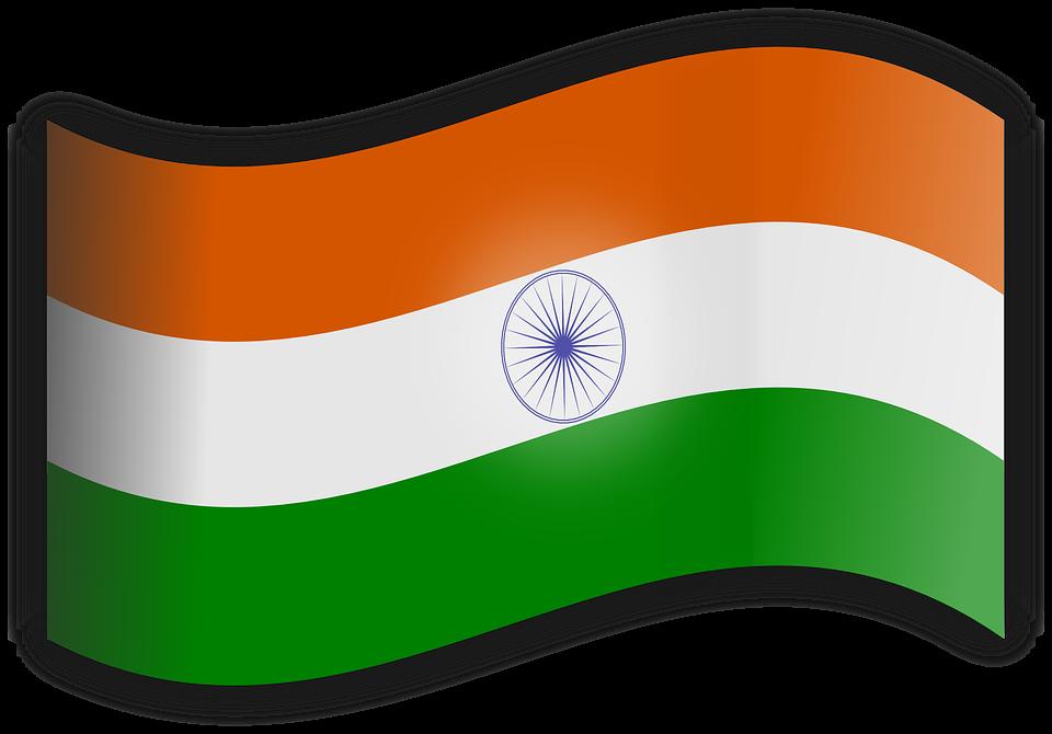 India, Flag.