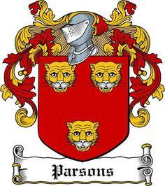 Parish Coat of Arms / Parish Family Crest.