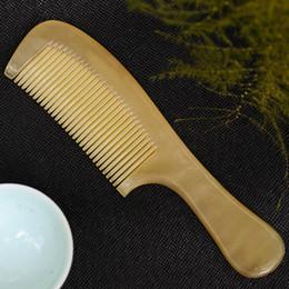 Discount Natural Ox Horn Comb.
