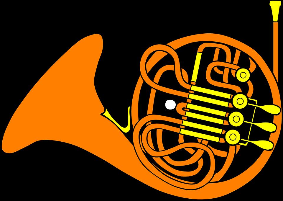 Free vector graphic: Trombone, Horn, Musical, Instrument.
