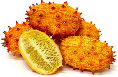 One of the most unusual fruit in appearance, the Horn melon.