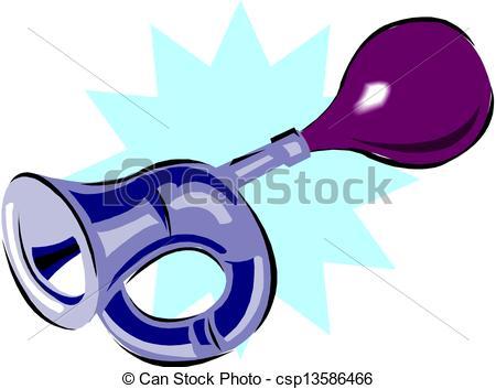 Clip Art Vector of Air horn csp13586466.