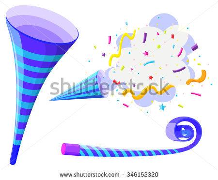 Party Horn Stock Photos, Royalty.