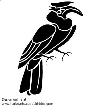 Download : Great Hornbill.