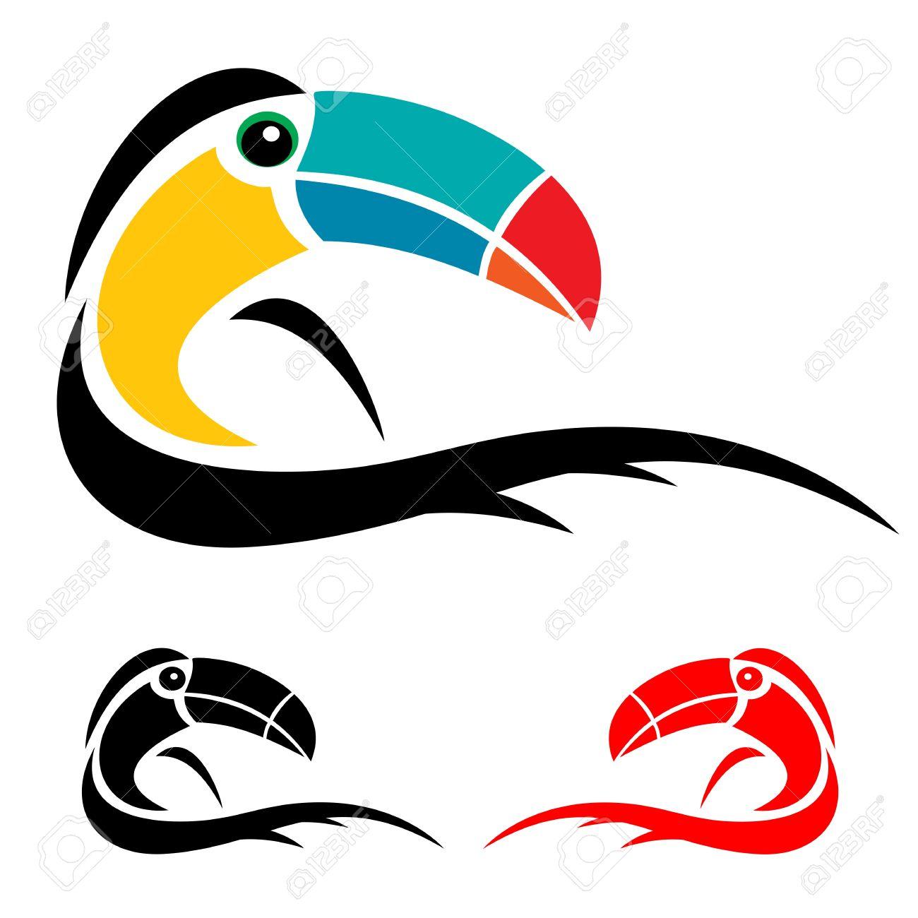 Hornbill Flying Clip Art.