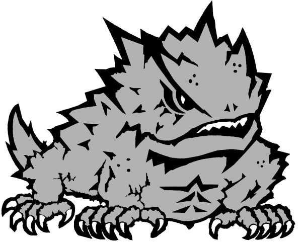 TCU Horned Frogs are fake frogs! Sad!.