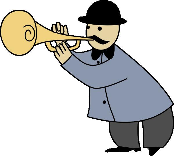 Trumpeter 2 Clip Art at Clker.com.