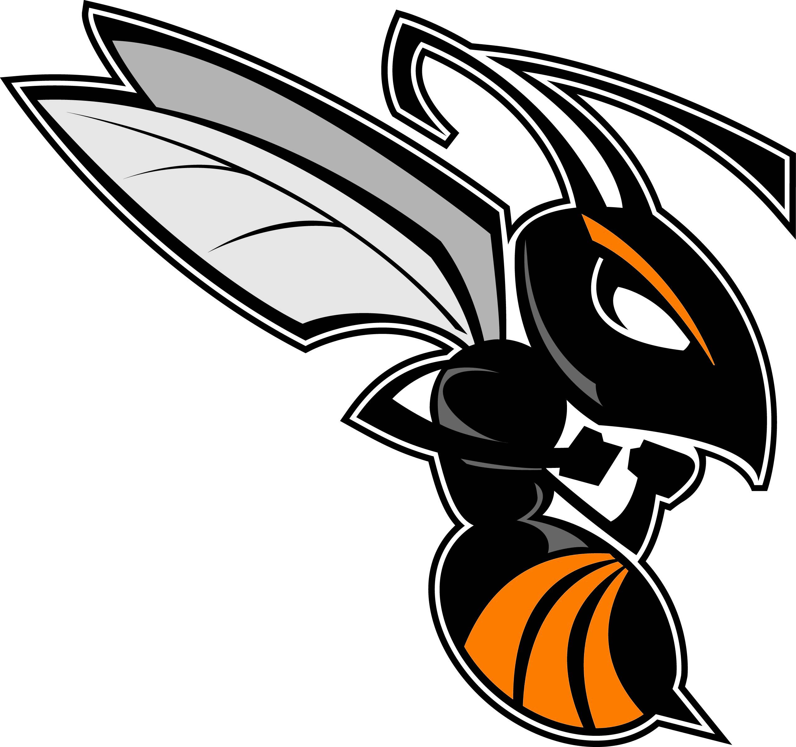 Hornet logo clipart.