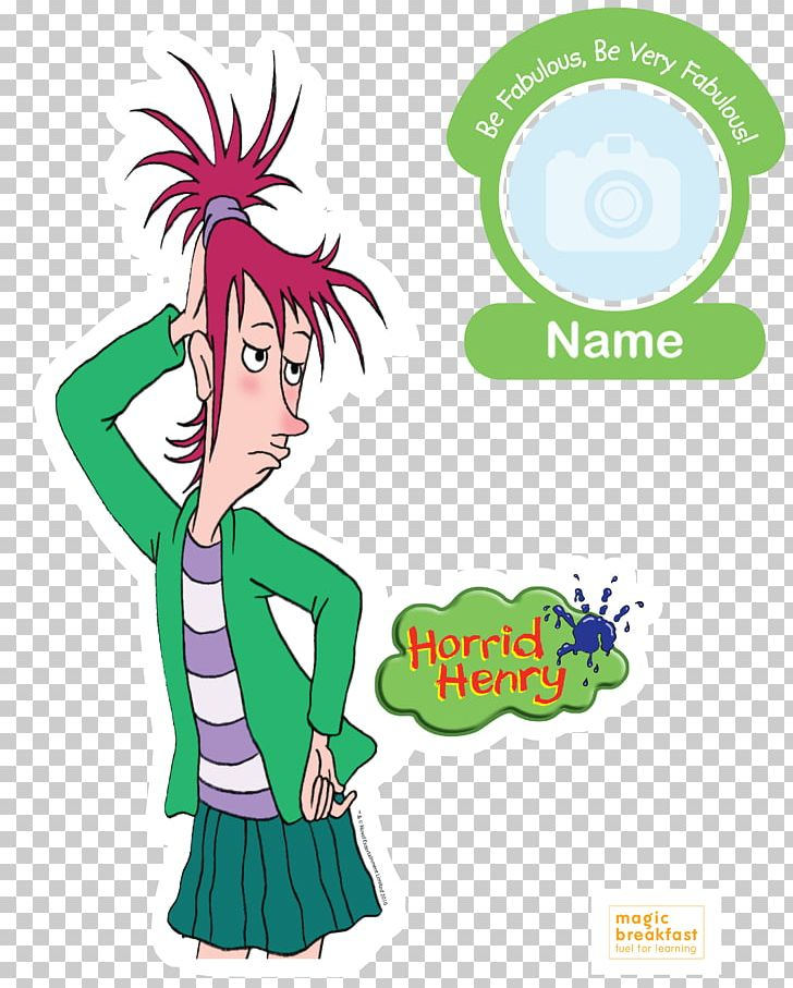 Horrid Henry's Diary Vomiting Vera Character PNG, Clipart, Free PNG.