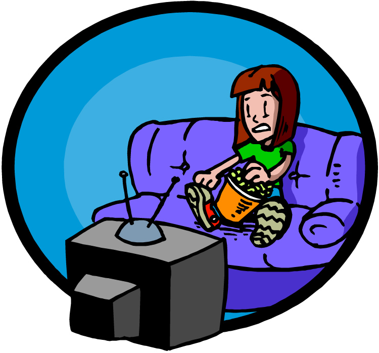 Horror movie live clipart.