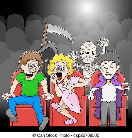 Horror movie Illustrations and Clip Art. 764 Horror movie royalty.