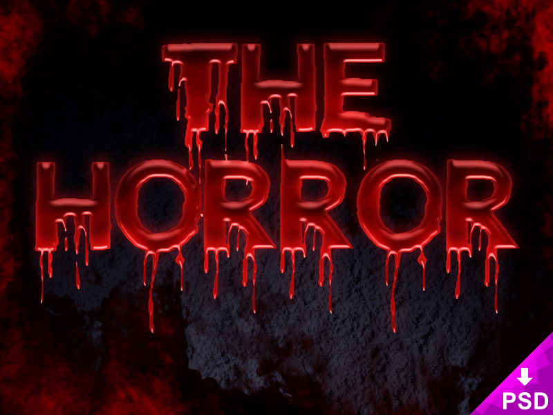 Horror text png 3 » PNG Image.