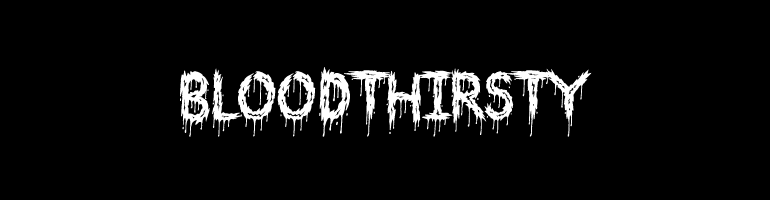 10 Best Horror Typography That Will Surely Evoke The Fear.