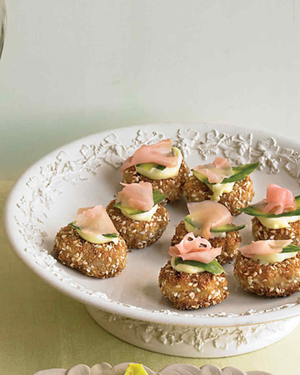 New Year's Party Appetizers.