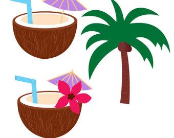 Cocktail umbrella.