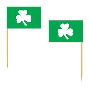 SHAMROCK Hors D'oeuvres / Appetizer PARTY PICKS (50 COUNT) St.