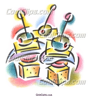 appetizer hors d'oeuvres Royalty Free Fineart Raster Illustration.