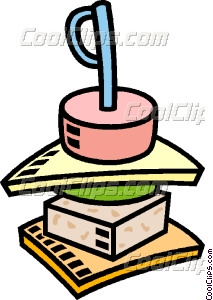 hors d'oeuvres Vector Clip art.