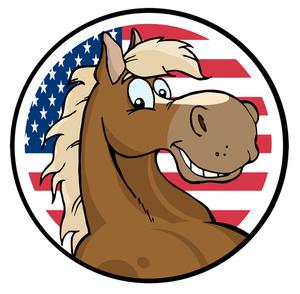 Stallion Clipart Image.