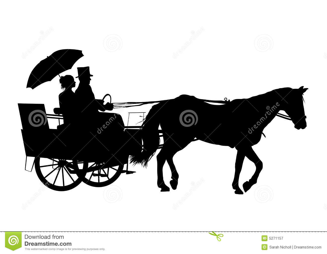 Horse And Carriage Clipart Clipground