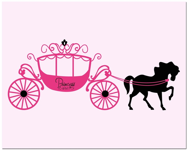 Cinderella carriage clipart free.