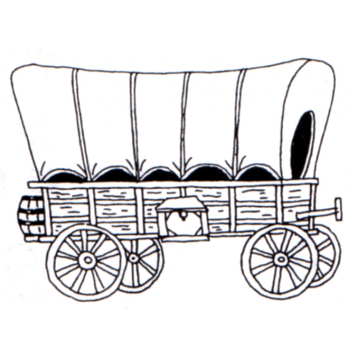 Similiar Covered Wagon Drawing Keywords.