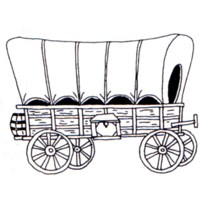 Similiar Covered Wagon Drawing Keywords.