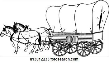 covered wagon pictures.