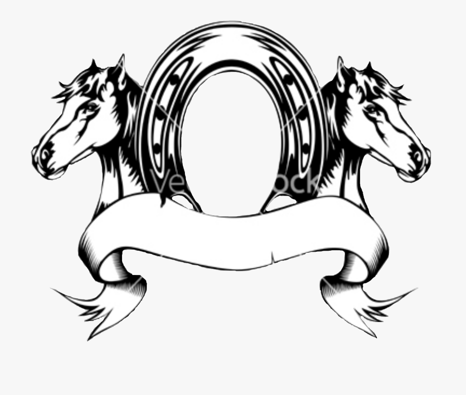 Horseshoes Vector Mustang.