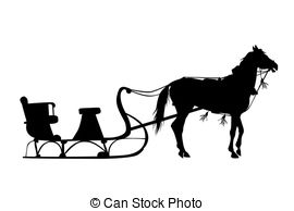 Horse sleigh Illustrations and Clip Art. 203 Horse sleigh royalty.