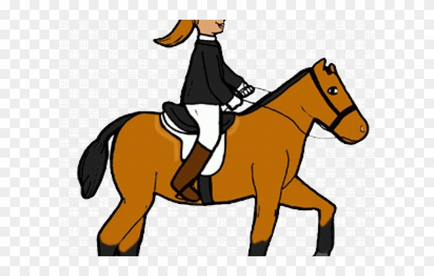 Horse Riding Clipart Toddler.