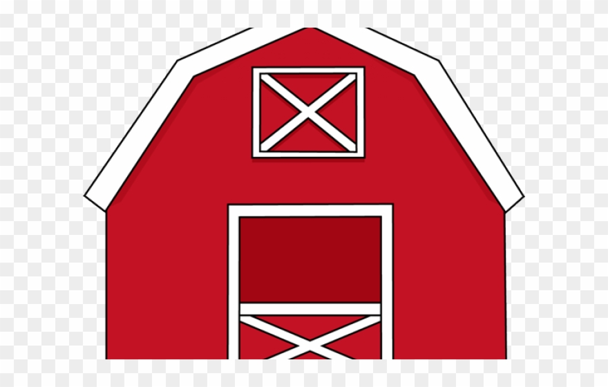 Horse In The Barn Clipart.