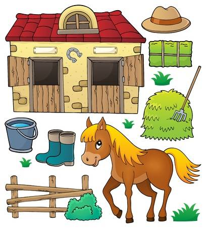 1,225 Horse Stable Stock Vector Illustration And Royalty Free Horse.