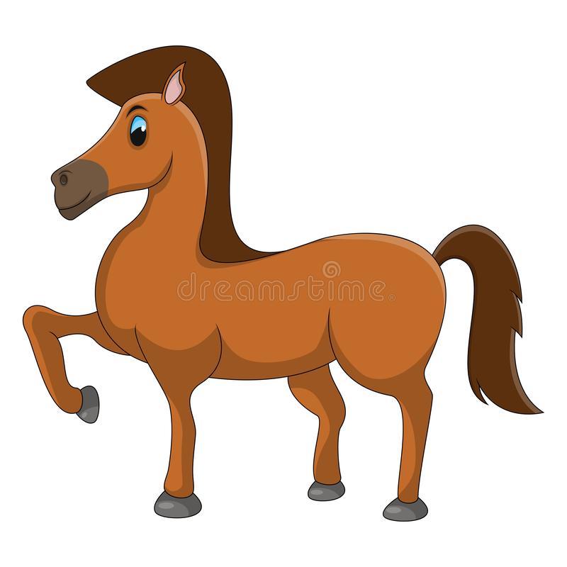 Horse Cartoon Stock Illustrations.