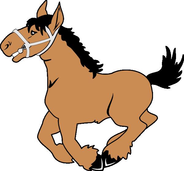 Cartoon Horse Clip Art at Clker.com.