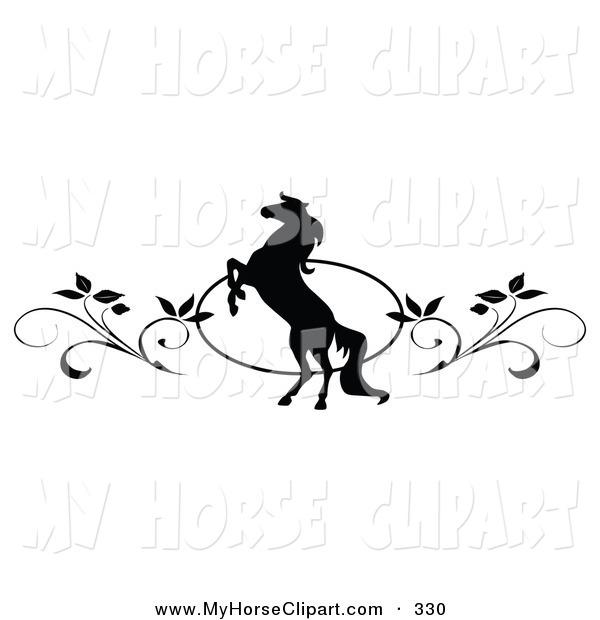 Borders clipart horse.