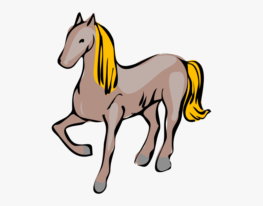 Cartoon Horse Svg Clip Arts.