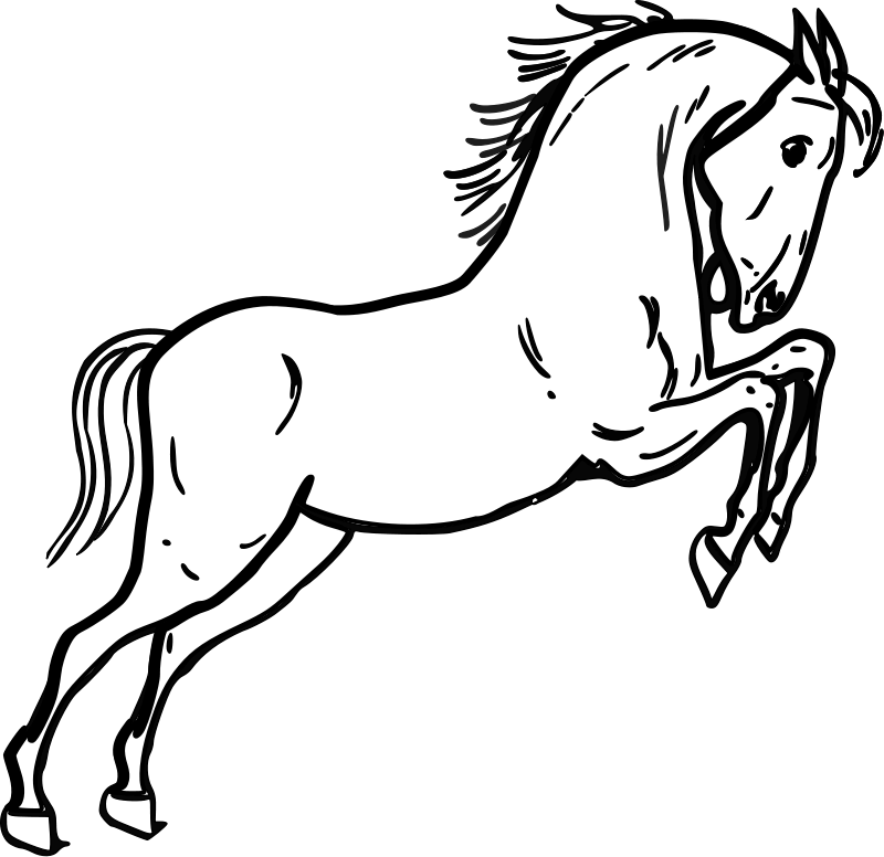 Free Printable Horse Clipart.