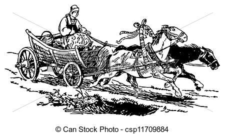 Horse drawn Illustrations and Clip Art. 4,509 Horse drawn royalty.