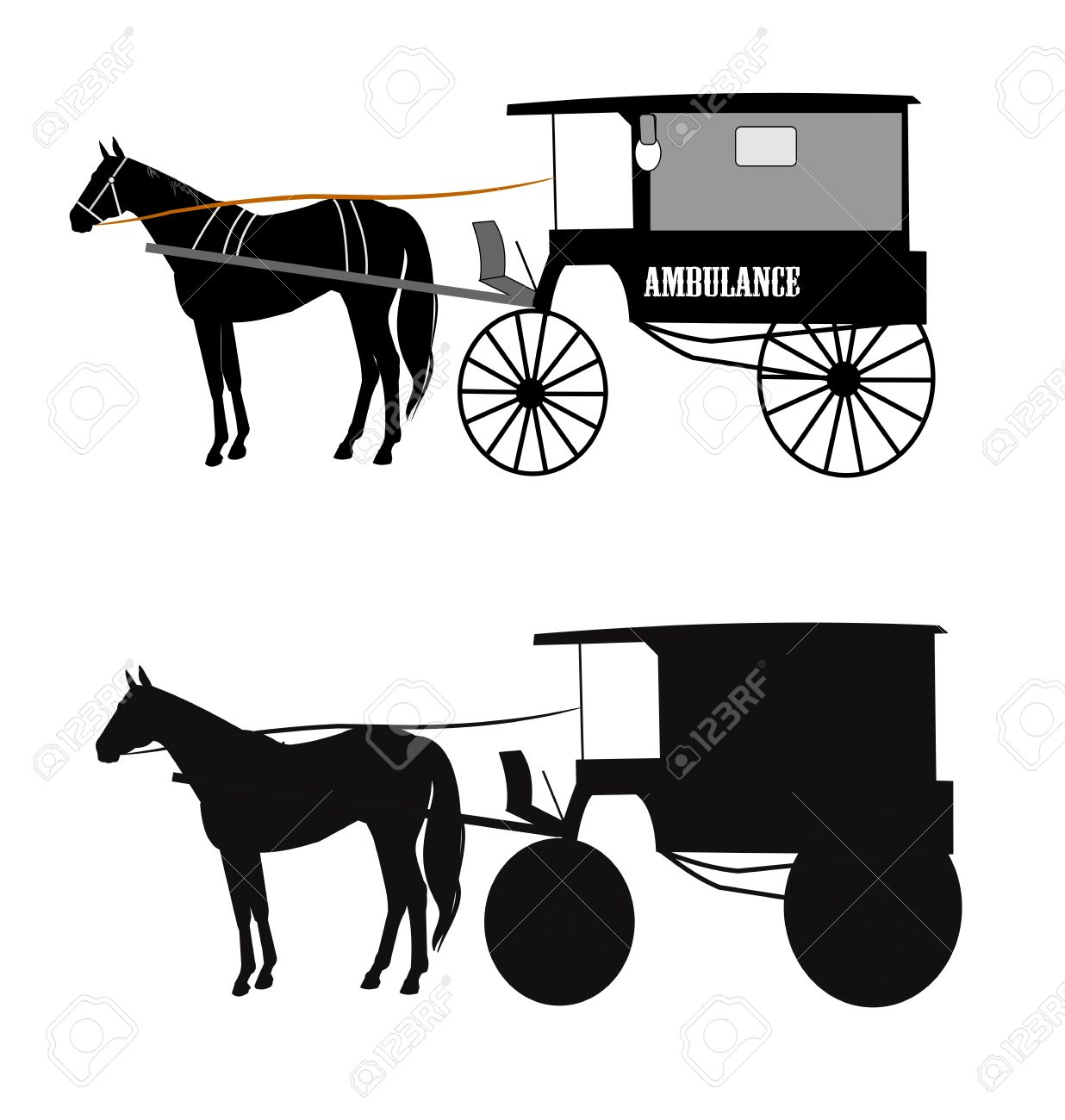 Horse Drawn Clipart Clipground