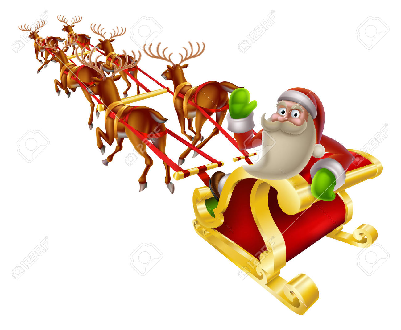 1,423 Sleigh Ride Stock Illustrations, Cliparts And Royalty Free.