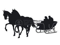 ANTIQUE 1920'S HORSE DRAWN SLEIGH / ONE HORSE OPEN SLEIGH.