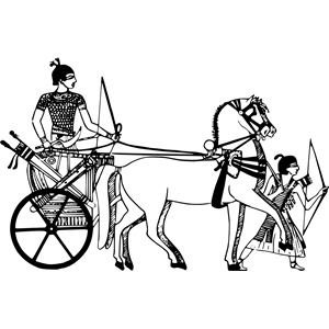 Ancient Egyptian war chariot clipart, cliparts of Ancient Egyptian.