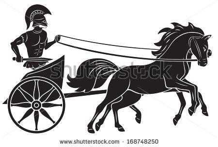 War Chariot Stock Photos, Royalty.