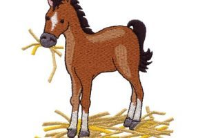 Horse eating hay clipart 1 » Clipart Portal.